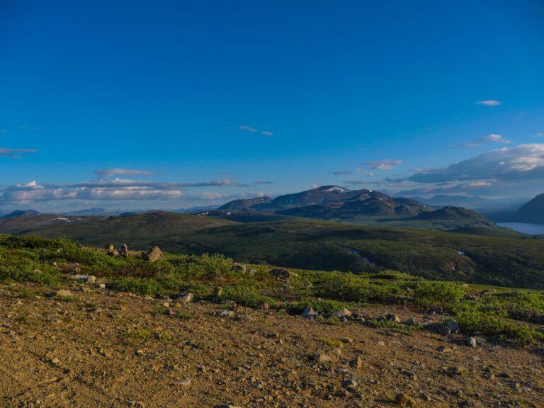Der Yukon ist Natur pur mit unendlichen Weiten. Foto faszika
