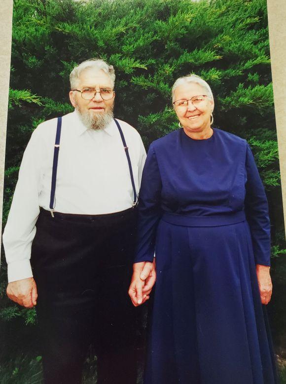 Leonard N. Jantzi (1929 +2009) und seine Ehefrau Mary Jane (1931), die Eltern von Paul Jantzi. Foto Jantzi Family