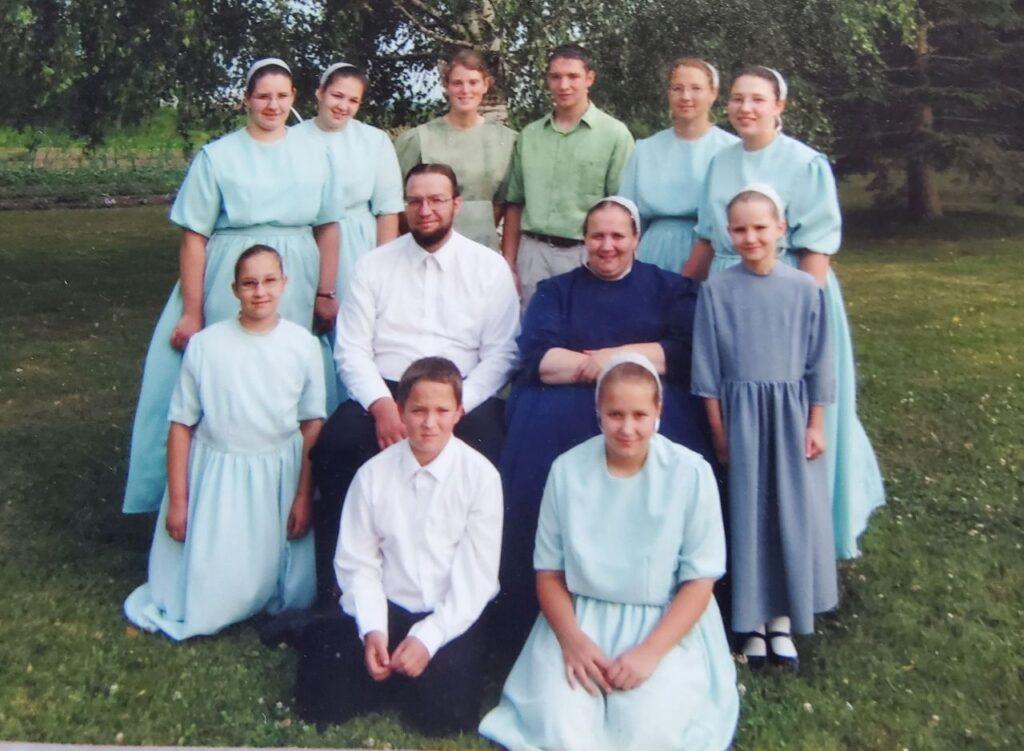 Paul Jantzi mit Ehefrau Nancy und ihren Kindern. Foto Jantzi Family