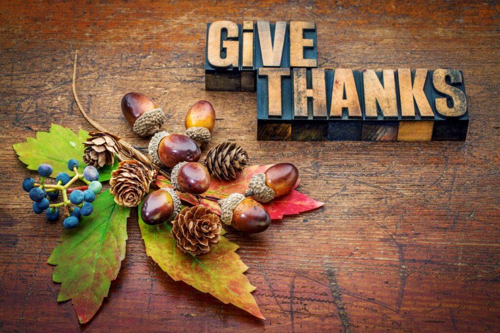 Am Thanksgiving Day wird für eine gute Ernte aus Feld und Flur gedankt. Foto PixelsAway / Deposit