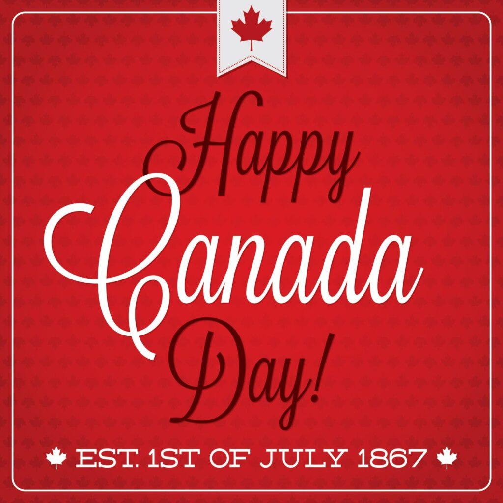 Ein besonderer Feiertag in ganz Kanada, der Canada Day in Gedenken an die Gründung der Nation im Jahr 1867. Foto piccola / Deposit