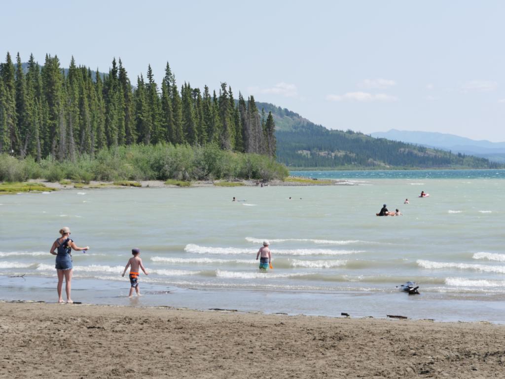 Der Marsh Lake gilt als offizielle Quelle des Yukon River. Foto apr